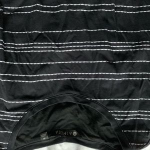 Black with White Stitching Athleta Dress Medium